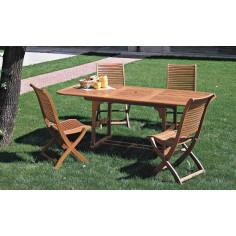 Tavolo da giardino rattan c incr figaro elite 80x80 colore for Tavolo tondo estensibile