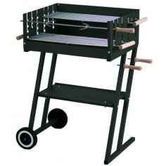 BARBECUE A CARBONE Mod. STEAK HOUSE DIMENSIONI cm 60x45x90h