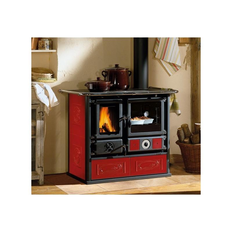 Cucina A Legna La Nordica.Cucina A Legna La Nordica Extraflame Modello Romantica 3 5 1 2 Colore Antracite Dx Cod 24192