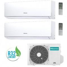 Climatizzatore Condizionatore Hisense Dual 12+18 Serie New Comfort 12000+18000 Btu 3amw72u4rfa R32 In A++ Wi Fi Ready