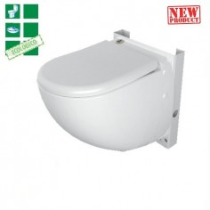 Wc Sospeso Con Incluso Trituratore Di Sfa Sanitrit Modello Sanicompact Comfort Eco Silence New Product