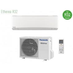 Climatizzatore Condizionatore Panasonic Inverter+ Serie Etherea Da 9000 Btu Gas R-32 Cs-z25vkew In A+++ White Wi Fi Integrato