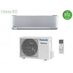 Climatizzatore Condizionatore Panasonic Inverter+ Serie Etherea Da 9000 Btu Gas R-32 Cs-xz25vkew In A+++ Silver WiFi Integrato