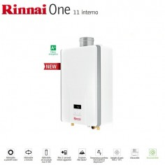 SCALDABAGNO A CAMERA STAGNA ISTANTANEO A GAS GPL RINNAI ONE 11 I CON KIT PER SCARICO FUMI – NEW MODEL