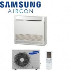 Climatizzatore Condizionatore Samsung Pavimento Console Inverter Ac026mnjdkh Da 9000 Btu In A++ Con Comando Wireless Incluso
