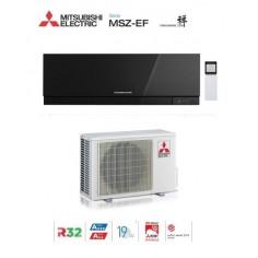 Climatizzatore Condizionatore Mitsubishi Electric Inverter Kirigamine Zen Black Msz-ef25ve3b 9000 Btu Gas R32 In A+++