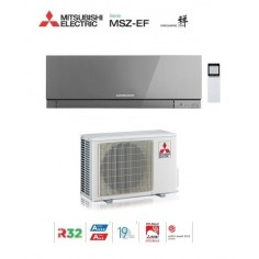 Climatizzatore Condizionatore Mitsubishi Electric Inverter Kirigamine Zen Silver Msz-ef35ve3s 12000 Btu Gas R32 In A+++