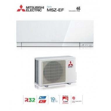CLIMATIZZATORE CONDIZIONATORE MITSUBISHI ELECTRIC INVERTER KIRIGAMINE ZEN WHITE MSZ-EF50VE3W 18000 BTU GAS R32 IN A++