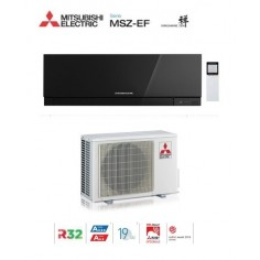 CLIMATIZZATORE CONDIZIONATORE MITSUBISHI ELECTRIC INVERTER KIRIGAMINE ZEN BLACK MSZ-EF50VE3B 18000 BTU GAS R32 IN A++