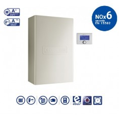 Caldaia A Condensazione Chaffoteaux Pigma Advance Ext Da 25 Kw Eu A Gas Metano/gpl Completa Kit Fumi Cod 3310577 - Erp New