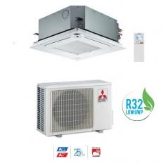 CLIMATIZZATORE CONDIZIONATORE MITSUBISHI ELECTRIC INVERTER A CASSETTA SERIE SLZ-M50FA DA 18000 BTU A++ GAS R32 WI FI READY NEW
