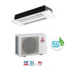 CLIMATIZZATORE CONDIZIONATORE MITSUBISHI ELECTRIC INVERTER A CASSETTA SERIE MLZ-KP35VF DA 12000 BTU A++ GAS R32 WI FI READY NEW