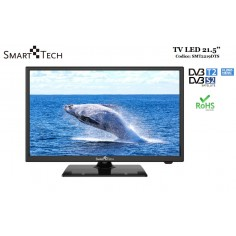 TELEVISIONE SMART TECH TV LED DA 21.5'' FULL HD DVB/T2/S2 MODELLO HOTEL MODE SMT-2219DTS COLORE NERO