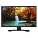 "TV LED MONITOR LG 24TK410V DA 24"" LED HD READY DVB/T2/S2 1366 x 768 Pixel WXGA COLORE: NERO OPACO"
