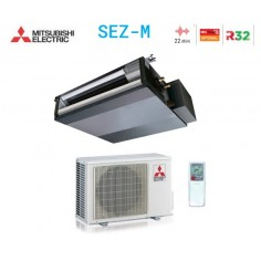 CLIMATIZZATORE CONDIZIONATORE MITSUBISHI ELECTRIC INVERTER CANALIZZABILE DA 12000 BTU SEZ-M35DAL R32 CLASSE A+/A+ WI FI READY