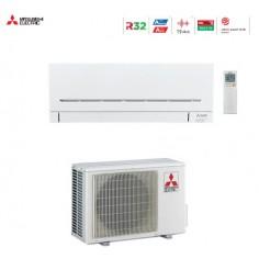 CLIMATIZZATORE CONDIZIONATORE MITSUBISHI ELECTRIC INVERTER SERIE AP WIFI MSZ-AP35VGK DA 12000 BTU IN CLASSE A+++ WI FI GAS R32
