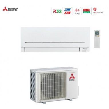 CLIMATIZZATORE CONDIZIONATORE MITSUBISHI ELECTRIC INVERTER SERIE AP LARGE WIFI MSZ-AP71VGK DA 24000 BTU IN A++ WI FI GAS R32