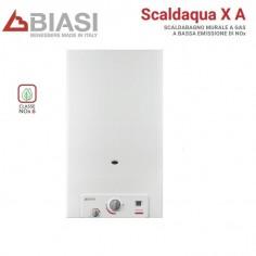 SCALDABAGNO CAMERA APERTA BIASI MODELLO SCALDACQUA X 11A GAS METANO LOW NOX NEW