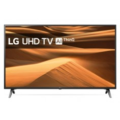 "TV LED 4K ULTRA HD LG 43UM7100PLB DA 43"" TV LED 4K ULTRA HD SMART DVB/T2/S2 1920x1080 Pixel HD COLORE: NERO"