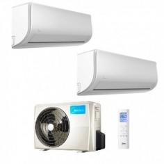 Climatizzatore Condizionatore Midea Dual Split Extreme 12000+12000 M20-18FN8-Q R-32 12+12