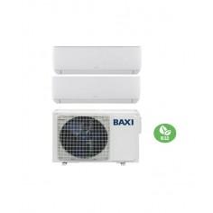Condizionatore Climatizzatore Baxi Dual Split Inverter Astra R32 9000+9000 BTU Con LSGT40-2M Wi-Fi Optional