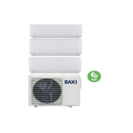 Climatizzatore Condizionatore Baxi Trial Split Inverter serie ASTRA 7+9+9 con LSGT70-3M R-32 Wi-Fi Optional 7000+9000+9000