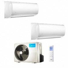 Climatizzatore Midea Dual Split Right 9000+12000 M20-18FN8-Q R-32 9+12