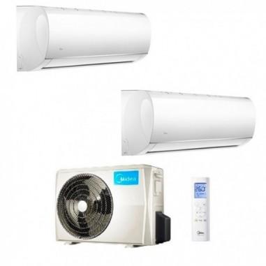 Climatizzatore Midea Dual Split Right 12000+12000 M20-18FN8-Q R-32 12+12