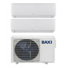 Climatizzatore Condizionatore DualSplit Inverter Baxi Serie Astra 7000+12000 con LSGT50-2M R-32 7+12 Wi-Fi Optional