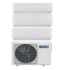 Climatizzatore Condizionatore Baxi Trial Split Inverter serie ASTRA 9+12+12 con LSGT70-3M R-32 Wi-Fi Optional 9000+12000+12000