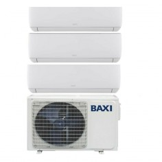 Condizionatore Climatizzatore Baxi Trial Split Inverter Astra R32 9000+9000+12000 BTU Con LSGT60-3M Wi-Fi Optional