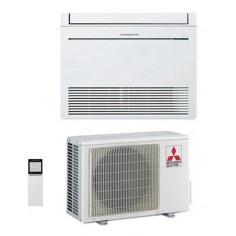 CLIMATIZZATORE CONDIZIONATORE MITSUBISHI ELECTRIC INVERTER PAVIMENTO MFZ-KT25VG DA 9000 BTU CLASSE A++ E GAS R32 WI FI READY