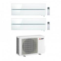 Climatizzatore Condizionatore Mitsubishi Electric Dual Split 9+9 Inverter Serie Sf 9000+9000 Con Mxz-2d42va(Angolo delle Occasio