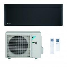 Climatizzatore Condizionatore Daikin Bluevolution Inverter STYLISH TOTAL BLACK 9000 FTXA25BB R-32 Wi-Fi Integrato Classe A+++
