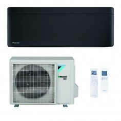 Climatizzatore Condizionatore Daikin Bluevolution Inverter STYLISH TOTAL BLACK 7000 FTXA20BB R-32 Wi-Fi Integrato Classe A+++
