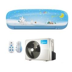 Climatizzatore Condizionatore Inverter Midea Kid Star Mod. Kidb-27 9000 Btu Classe A++ Colore Blu