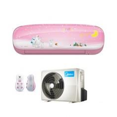 Climatizzatore Condizionatore Inverter Midea Kid Star Mod. Kidb-27 9000 Btu Classe A++ Colore Rosa