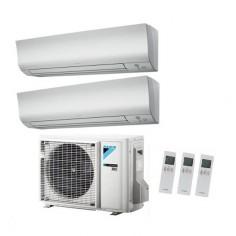 Climatizzatore Condizionatore Daikin Dual 7+9 Inverter Perfera Ftxm/n Bluevolution Wi Fi Incluso 7000+9000 2mxm40m R-32 -2019