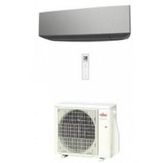Climatizzatore Condizionatore Fujitsu Inverter serie KE 9000 Btu ASYG09KETA-B R-32 Wi-Fi Optional Colore Argento