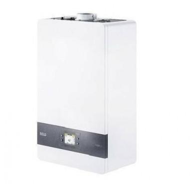 Caldaia Riello a condensazione Family Condens 35 KIS Low NOx completa di kit scarico fumi Metano o Gpl classe A