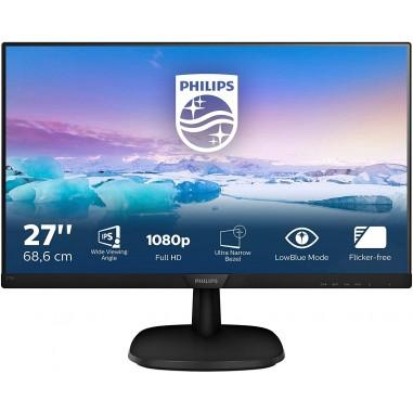 "Philips 273V7QDSB Monitor 27"" LED IPS..."