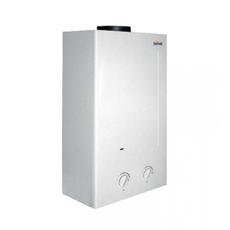 Scaldabagno a camera aperta ferroli zefiro c11 a gas metano - Scaldabagno a gas metano ...