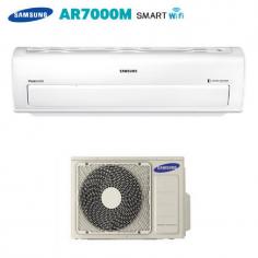 CLIMATIZZATORE CONDIZIONATORE SAMSUNG INVERTER Serie AR7000M SMART WIFI A++ AR12KSPDBWKNEU 12000 BTU