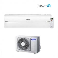 Climatizzatore Condizionatore Samsung Inverter Serie Ar9000m Smart Wifi A++ Ar12jspfbwkneu 12000 Btu + Staffa Omaggio