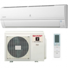 Climatizzatore Sharp Hi-wall Inverter Deluxe Serie Lr Ay-xp24lr