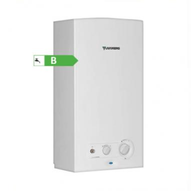 Scaldabagno a camera aperta junkers bosch minimaxx wr 14 2 b a gas metano - Scaldabagno a gas junkers 14 litri ...