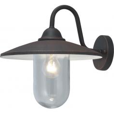 Lanterna Da Esterno In Acciaio Con Braccio Cm 36x35h Mod. Portofino Colore Nero