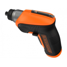 AVVITATORE BLACK&DECKER A BATTERIA LITIO 3.6 V CORDLESS VELOCITA' 180 GIRI/MIN Mod. CS3652LCAT
