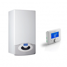 CALDAIA ARISTON GENUS PREMIUM NET 35 EU SMART Wi-Fi A CONDENSAZIONE ErP COMPLETA DI KIT FUMI METANO