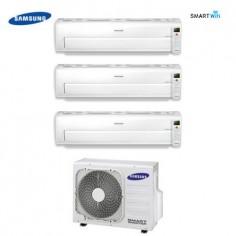 CLIMATIZZATORE TRIAL SPLIT SAMSUNG INVERTER Serie AR7000M SMART WIFI 9+12+12 con AJ068FCJ + STAFFA OMAGGIO